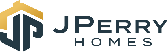 J Perry Homes Logo with J Perry Homes in text